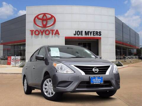 2019 Nissan Versa for sale at Joe Myers Toyota PreOwned in Houston TX