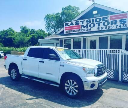 2012 Toyota Tundra for sale at EASTSIDE MOTORS in Tulsa OK