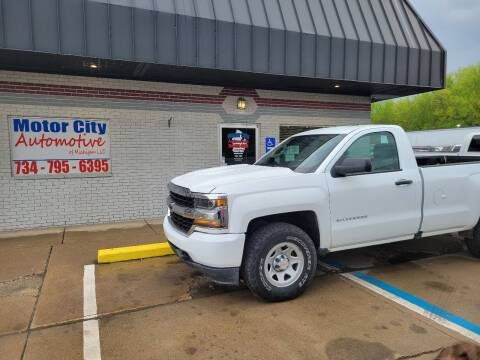 2017 Chevrolet Silverado 1500 for sale at Motor City Automotive of Michigan in Flat Rock MI