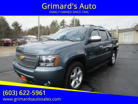 2012 Chevrolet Avalanche for sale at Grimard's Auto in Hooksett, NH
