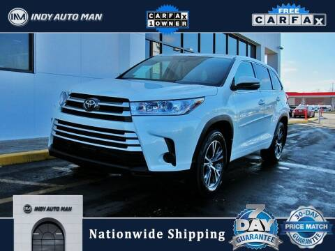 2018 Toyota Highlander for sale at INDY AUTO MAN in Indianapolis IN