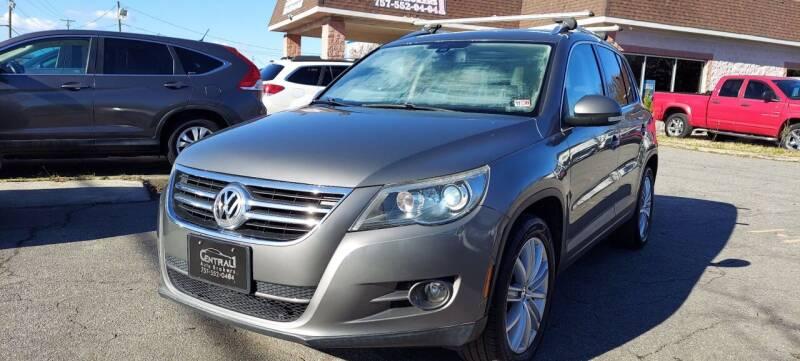 2010 Volkswagen Tiguan for sale at Central 1 Auto Brokers in Virginia Beach VA