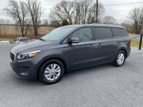 2017 Kia Sedona for sale at M4 Motorsports in Kutztown PA