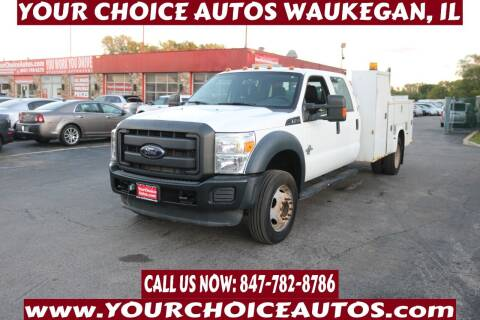 2012 Ford F-450 Super Duty for sale at Your Choice Autos - Waukegan in Waukegan IL