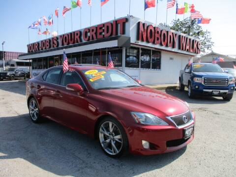 2010 Lexus IS 250 for sale at Giant Auto Mart 2 in Houston TX