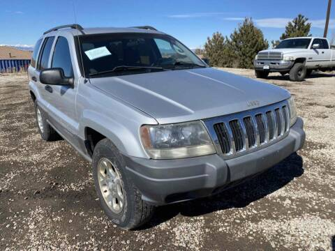 2002 Jeep Grand Cherokee for sale at BERKENKOTTER MOTORS in Brighton CO