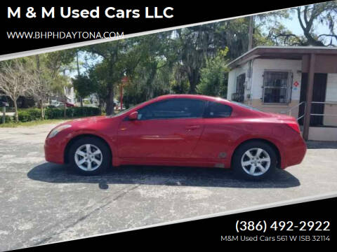 2008 Nissan Altima for sale at M & M Used Cars LLC in Daytona Beach FL