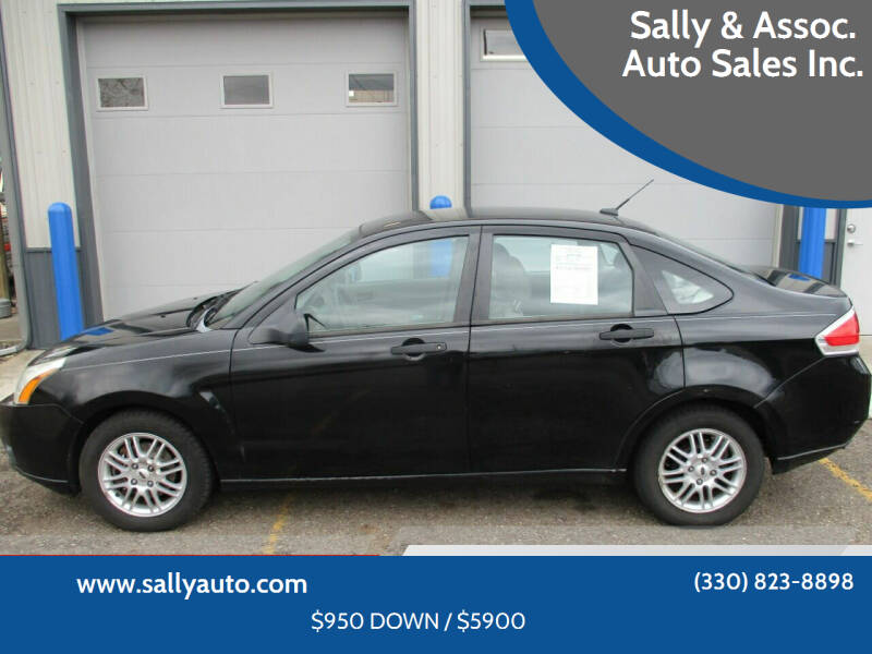 2009 Ford Focus for sale at Sally & Assoc. Auto Sales Inc. in Alliance OH