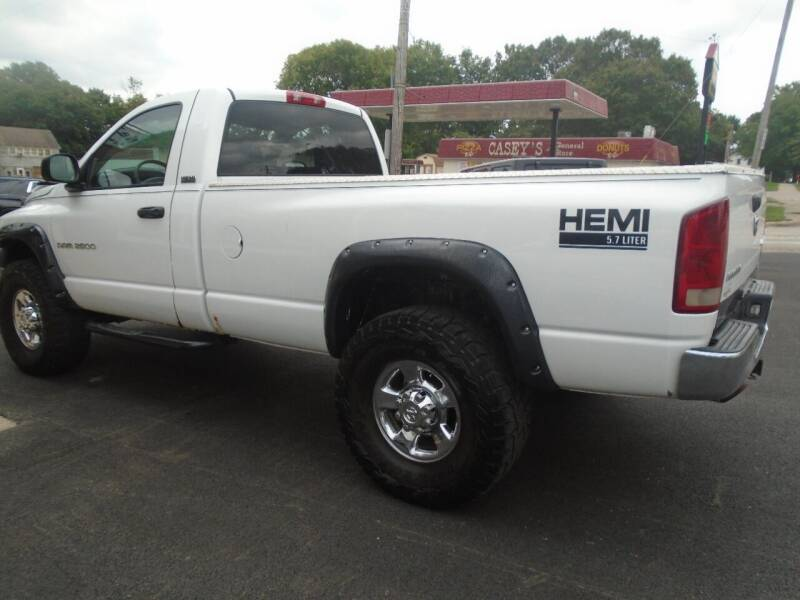 2006 Dodge Ram Pickup 2500 for sale at Nelson Auto Sales in Toulon IL
