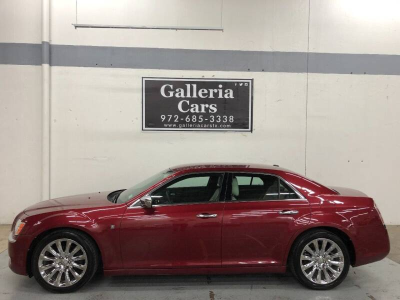 2013 Chrysler 300 for sale at Galleria Cars in Dallas TX