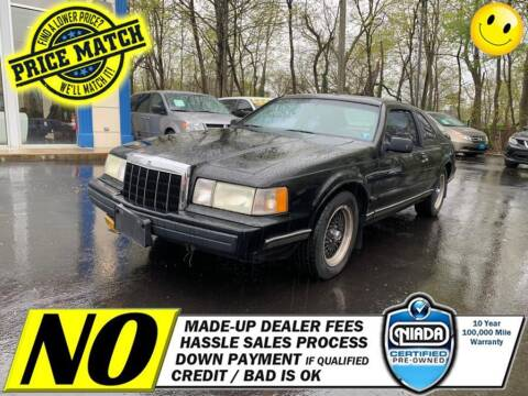 1990 Lincoln Mark VII for sale at AUTOFYND in Elmont NY