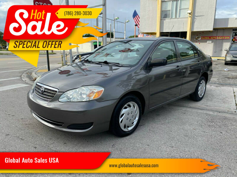 2006 Toyota Corolla for sale at Global Auto Sales USA in Miami FL