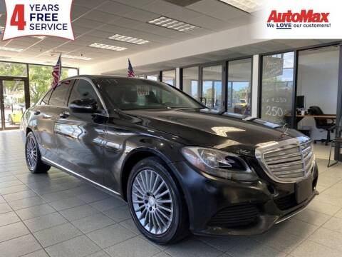2015 Mercedes-Benz C-Class for sale at Auto Max in Hollywood FL