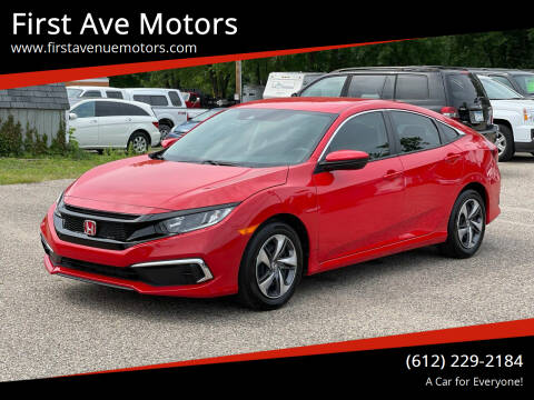 2020 Honda Civic for sale at First Ave Motors in Shakopee MN