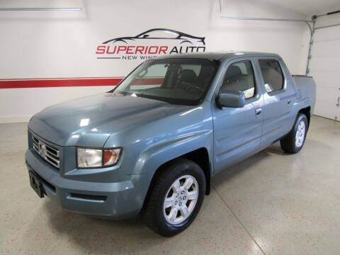 2007 Honda Ridgeline for sale at Superior Auto Sales in New Windsor NY