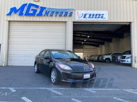 2013 Mazda MAZDA3 for sale at MGI Motors in Sacramento CA