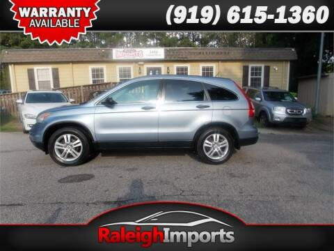 2010 Honda CR-V for sale at Raleigh Imports in Raleigh NC