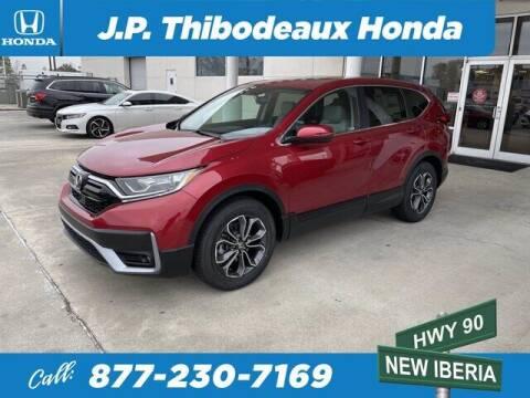 2021 Honda CR-V for sale at J P Thibodeaux Used Cars in New Iberia LA