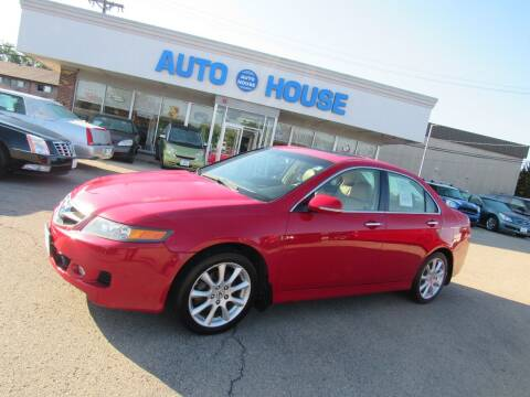 2007 Acura TSX for sale at Auto House Motors in Downers Grove IL