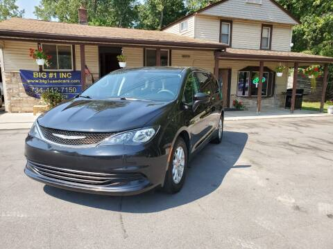 2017 Chrysler Pacifica for sale at BIG #1 INC in Brownstown MI