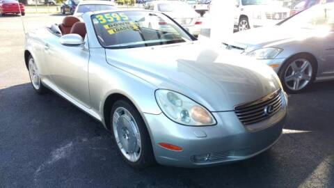 2002 Lexus SC 430 for sale at Tony's Auto Sales in Jacksonville FL
