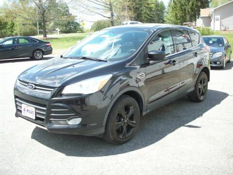 2013 Ford Escape for sale at A-Plus Motors in Alton ME