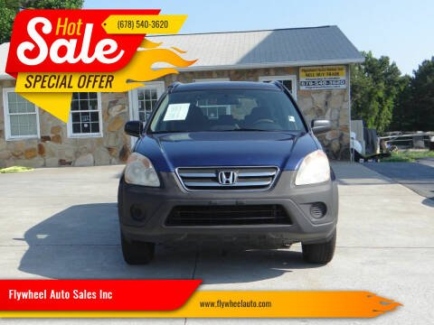 2005 Honda CR-V for sale at Flywheel Auto Sales Inc in Woodstock GA