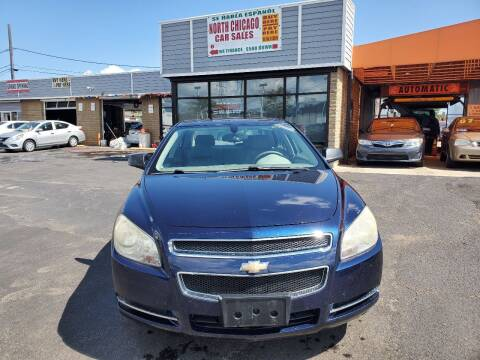 2008 Chevrolet Malibu for sale at North Chicago Car Sales Inc in Waukegan IL