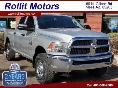 2013 RAM Ram Pickup 2500 for sale at Rollit Motors in Mesa AZ