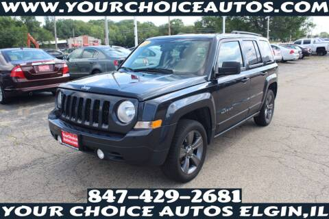 2015 Jeep Patriot for sale at Your Choice Autos - Elgin in Elgin IL