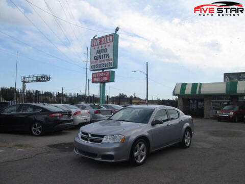 2013 Dodge Avenger for sale at Five Star Auto Center in Detroit MI