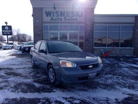 2007 Chevrolet Malibu for sale at Wisneski Auto Sales, Inc. in Green Bay WI
