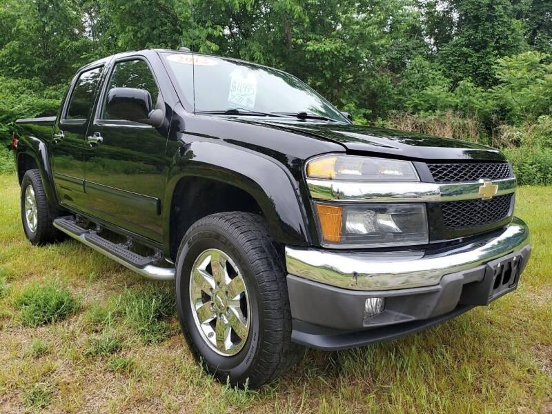 2012 Chevrolet Colorado for sale at Oxford Auto Sales in North Oxford MA