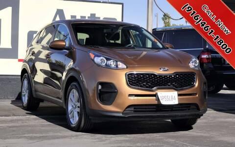 2017 Kia Sportage for sale at H1 Auto Group in Sacramento CA