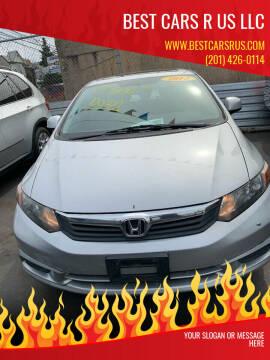 2012 Honda Civic for sale at Best Cars R Us LLC in Irvington NJ