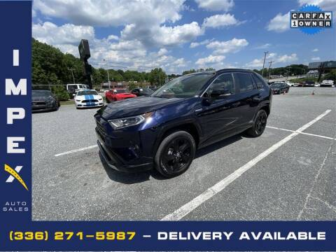 2020 Toyota RAV4 Hybrid for sale at Impex Auto Sales in Greensboro NC
