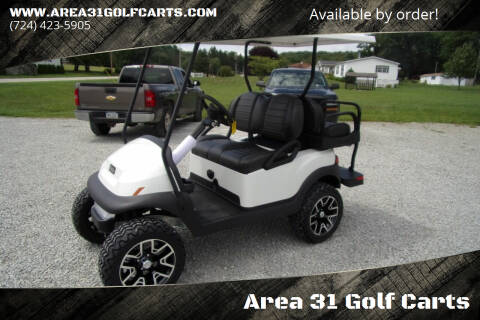2021 Club Car Lifted Golf Cart Villager 4 Passenger, 48 Volt for sale at Area 31 Golf Carts - Electric 4 Passenger in Acme PA