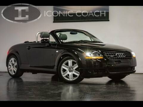 2003 Audi TT for sale at Iconic Coach in San Diego CA