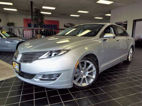 2016 Lincoln MKZ Hybrid for sale at SAINT CHARLES MOTORCARS in Saint Charles IL