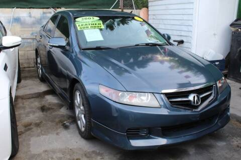 2005 Acura TSX for sale at FJ Auto Sales in North Hollywood CA