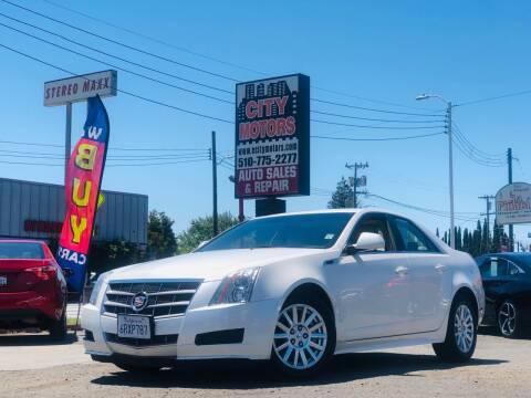 2011 Cadillac CTS for sale at City Motors in Hayward CA