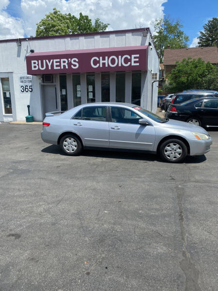 2004 Honda Accord for sale at Buyers Choice Auto Sales in Bedford OH