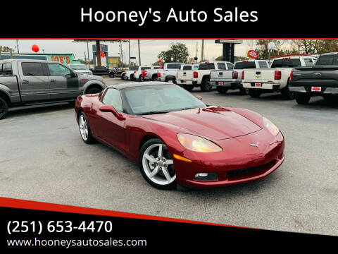 2006 Chevrolet Corvette for sale at Hooney's Auto Sales in Theodore AL