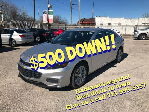 2018 Chevrolet Malibu for sale at Saipan Auto Sales in Houston TX