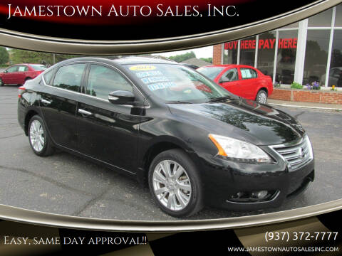 2014 Nissan Sentra for sale at Jamestown Auto Sales, Inc. in Xenia OH