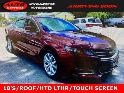 2017 Chevrolet Impala for sale at Auto Express in Lafayette IN