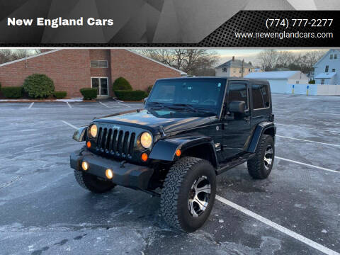 2007 Jeep Wrangler for sale at New England Cars in Attleboro MA