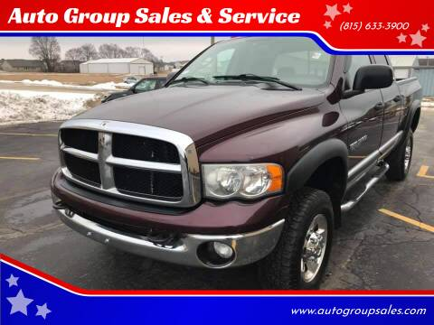 2005 Dodge Ram Pickup 3500 for sale at Auto Group Sales in Roscoe IL