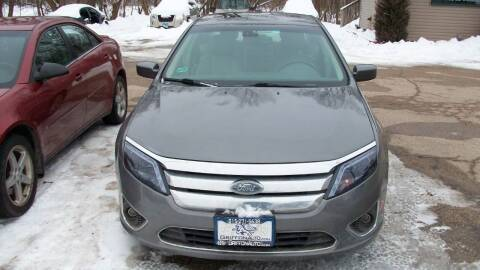 2012 Ford Fusion for sale at Griffon Auto Sales Inc in Lakemoor IL