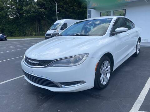 2015 Chrysler 200 for sale at Glory Motors in Rock Hill SC